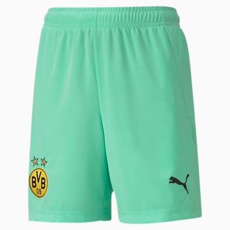 BVB Replica Youth Goalkeeper Shorts, Green Glimmer, small