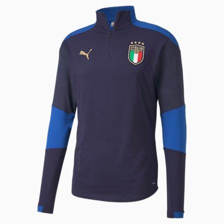Italia Men's Training Top, Peacoat-Team Power Blue, small