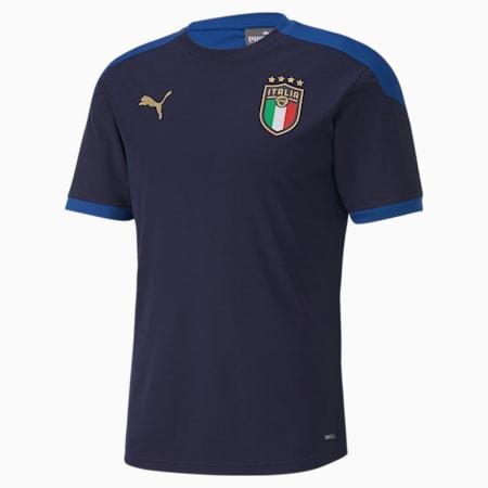Italia Men's Training Jersey, Peacoat-Team Power Blue, small