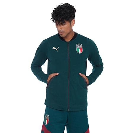 Italia Casuals Jacket, Ponderosa Pine-Peacoat, small-IND