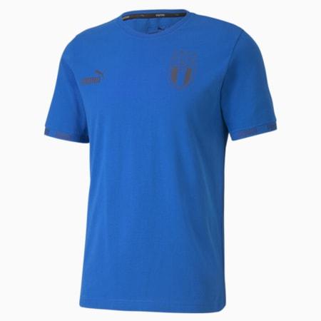 Italia Football Culture Herren T-Shirt, Team Power Blue, small
