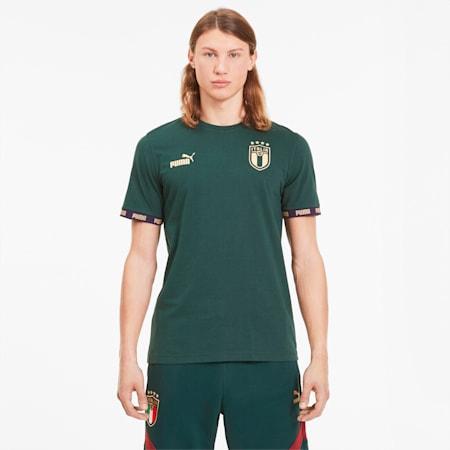 FIGC イタリア FTBLCULTURE Tシャツ 半袖, Ponderosa Pine, small-JPN