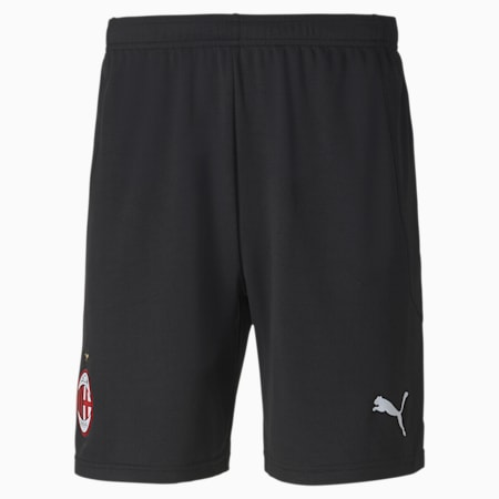 AC Milan Replica Men's Football Shorts, Puma Black-Puma Black, small