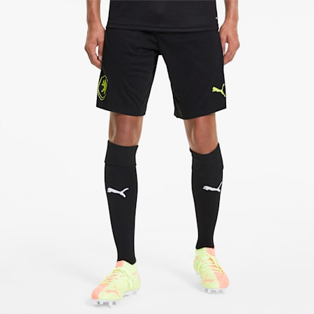 Shorts de training para hombre Czech Republic, Puma Black, small