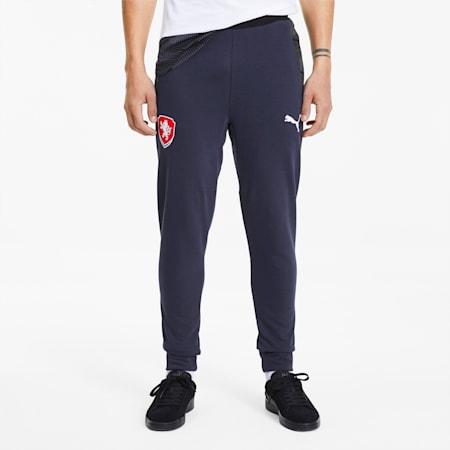Spodnie dresowe reprezentacji Czech Casuals, Peacoat, small