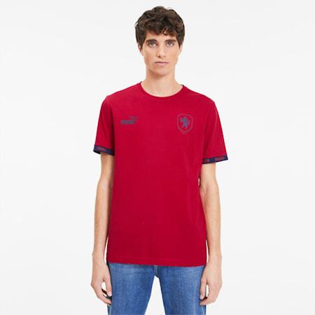 Camiseta deportiva de hombre FtblCulture Czech Republic, Chili Pepper, small