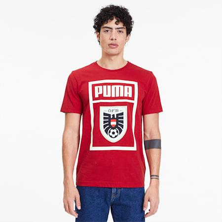 T-Shirt Autriche Shoe Tag pour homme, Chili Pepper, small