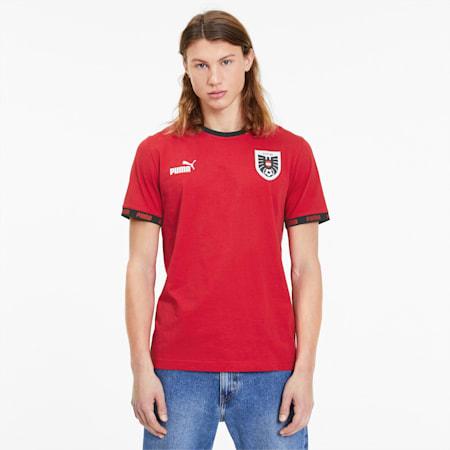 T-shirt FtblCulture Austria da uomo, Chili Pepper, small