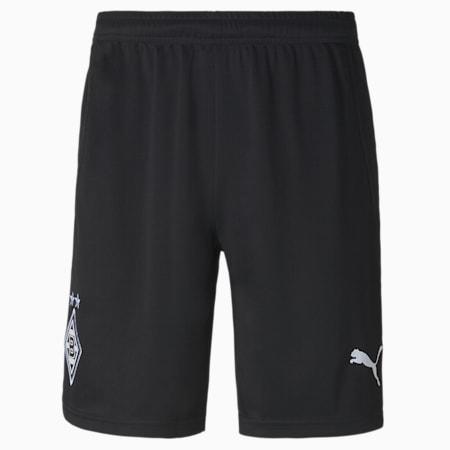 Short Extérieur Borussia Mönchengladbach Replica pour homme, Puma Black-Puma White, small
