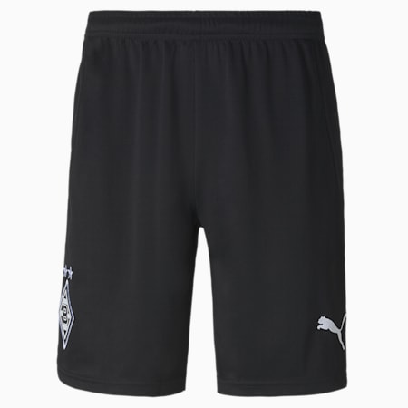 Borussia Mönchengladbach Away Replica Men's Football Shorts, Puma Black-Puma White, small-GBR