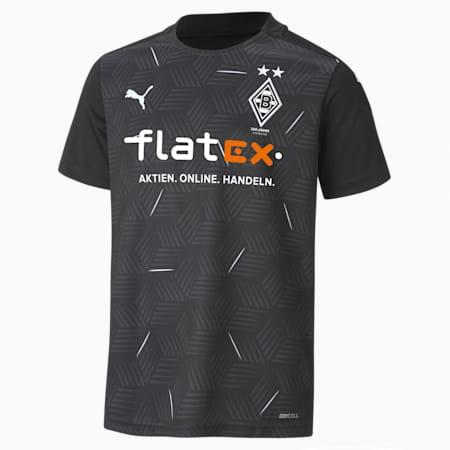 Borussia Mönchengladbach Away Replica Youth Jersey, Puma Black-Puma White, small-GBR