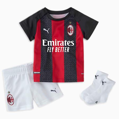 AC Milan Home Babies' Baby Kit, Tango Red -Puma Black, small-GBR