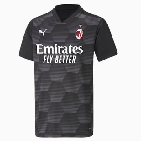 AC Milan Replica Youth Goalkeeper Jersey, Puma Black, small-GBR