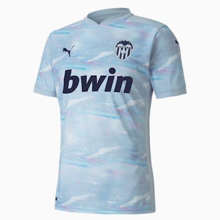 Męska replika trzeciej koszulki domowej Valencia CF, Heather-Peacoat, small