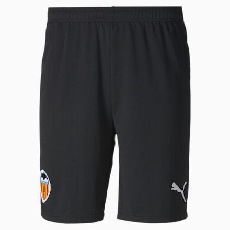 Shorts de fútbol para hombre réplica de la 1.ª equipación del Valencia CF, Puma Black-Puma White, small