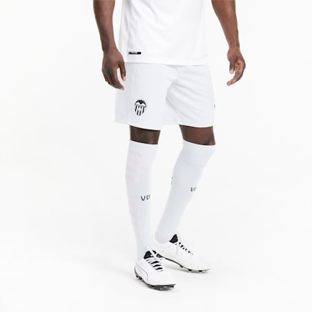 Shorts de fútbol para hombre réplica de la 3.ª equipación del Valencia CF, Heather-Puma Black, small