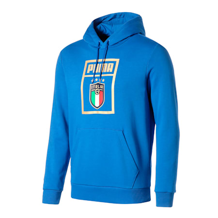 FIGC イタリア PUMA DNA フーディー, Team Power Blue-Team Gold, small-JPN