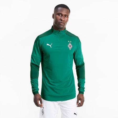 Sweatshirt Borussia Mönchengladbach Training pour homme, Pepper Green-Power Green, small