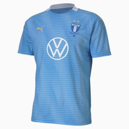 Malmö Home Men's Replica Jersey, Team Light Blue-Puma White, small