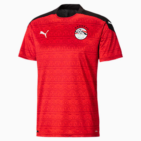 Egypt Replica voetbaljersey heren, thuistenue, Puma Red-Puma White, small