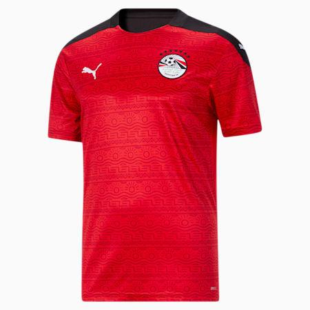 Reproduction du maillot à domicile Egypt, homme, Rouge puma-blanc puma, petit