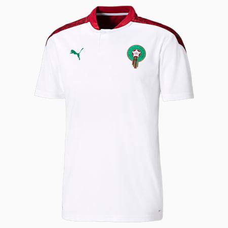 Camiseta réplica de la 2.ª equipación de Marruecos para hombre, Puma White-Pepper Green, small