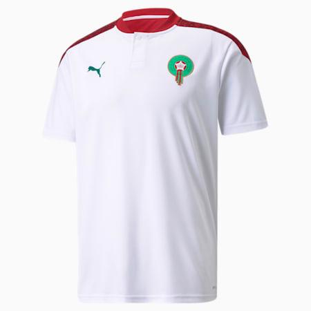 Morocco Away Replica Men's Jersey, Puma White-Pepper Green, small-GBR