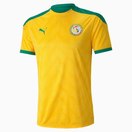 Senegal Stadium Men's Jersey, Dandelion-Pepper Green, small