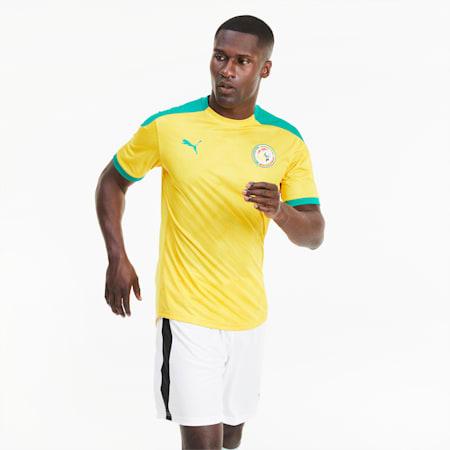 Męska koszulka stadionowa reprezentacji Senegalu, Dandelion-Pepper Green, small