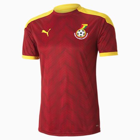 Ghana Stadium Men's Jersey, Chili Pepper-Dandelion, small