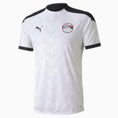 Camiseta de estadio de Egipto para hombre, Puma Black-Puma White, small