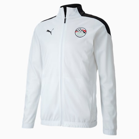 Egypt Men's Stadium Jacket, Puma Black-Puma White, small