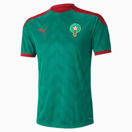 Marokko Herren Stadium Trikot, Pepper Green-Chili Pepper, small