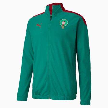 Męska stadionowa kurtka piłkarska reprezentacji Maroka, Pepper Green-Chili Pepper, small