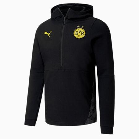 BVB Casuals Fußball Hoodie, Puma Black, small