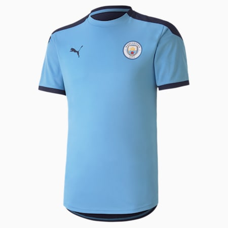 Maglia Man City Training uomo, Team Light Blue-Peacoat, small