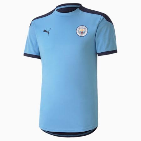 Man City trainingsshirt voor heren, Team Light Blue-Peacoat, small