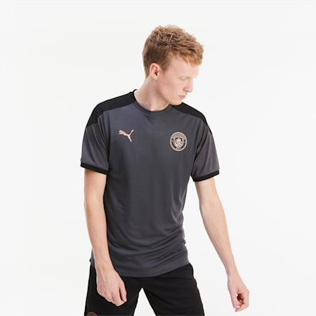 Man City Training Men's Jersey, Asphalt-Copper, small