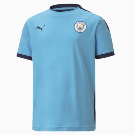 Młodzieżowa koszulka treningowa Man City, Team Light Blue-Peacoat, small