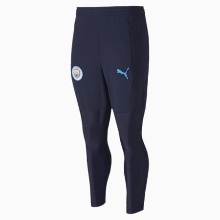 Męskie spodnie treningowe Man City Pro, Peacoat-Team Light Blue, small