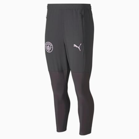 Man City Pro Men's Training Pants, Asphalt-Lilac Snow, small