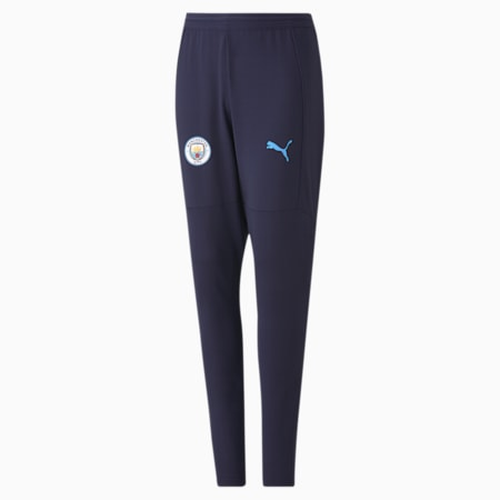 Man City Youth Training Pants, Peacoat-Team Light Blue, small