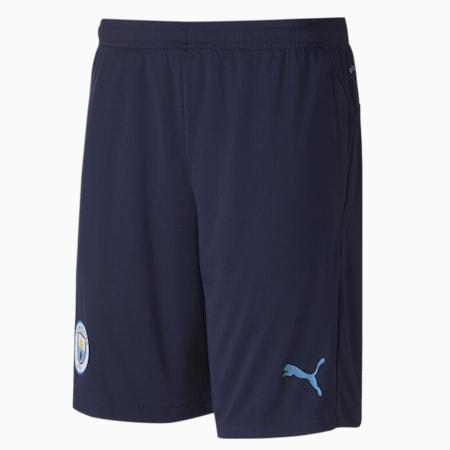 Man City Men's Training Shorts, Peacoat-Team Light Blue, small-GBR