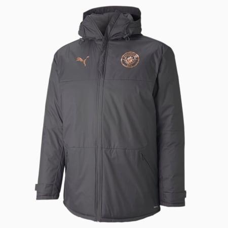 Man City Herren Winter Trainingsjacke, Asphalt-Copper, small