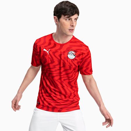 Egypt Men's Home Replica Jersey, Puma Red-Puma White, small-SEA