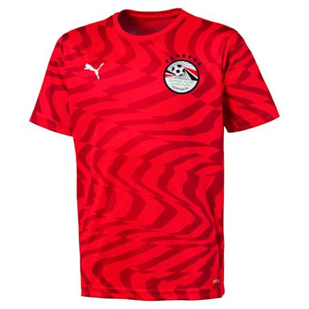 Dziecieca replika koszulki druzyny Egiptu, Puma Red-Puma White, small