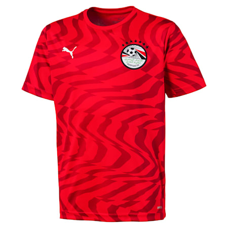 Egypt Kids' Home Replica Jersey, Puma Red-Puma White, small