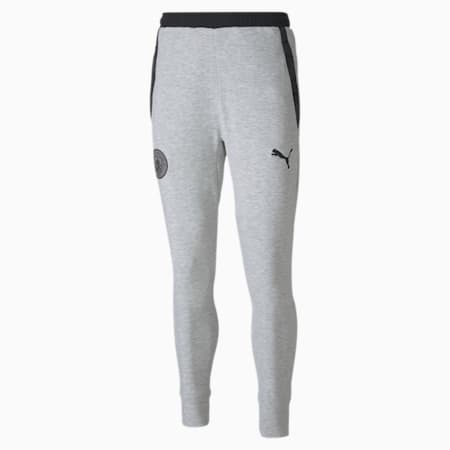 Manchester City Casuals Men's Football Sweatpants, Light gray heather, small-IND
