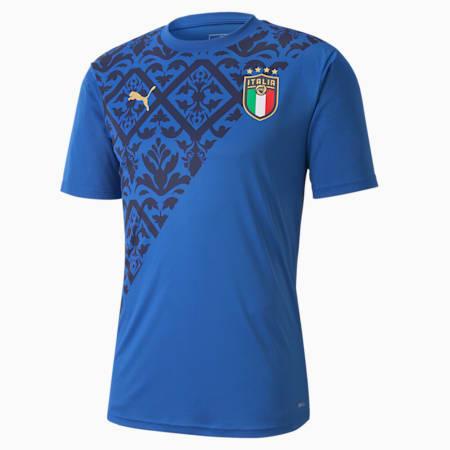 Italia Men's Home Stadium Jersey, Team Power Blue-Team Gold, small-GBR