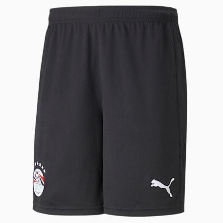 Egypt Away Replica Men's Football Shorts, Puma Black-Puma White, small-GBR